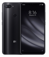 Смартфон Xiaomi Mi 8 Lite 4/64Gb Black Global Version