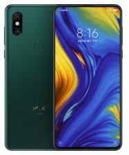 Смартфон Xiaomi mi mix 3 8/256Gb Изумрудный Global Version