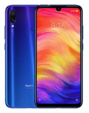 Смартфон Xiaomi Redmi Note 7 4/64Gb Синий Global Version