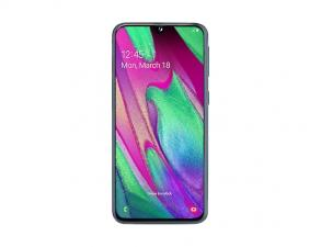 Смартфон Samsung Galaxy A40 64GB Чёрный
